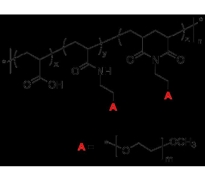 Poly Acrylic Acid Graft Poly Ethylene Oxide Grafting On